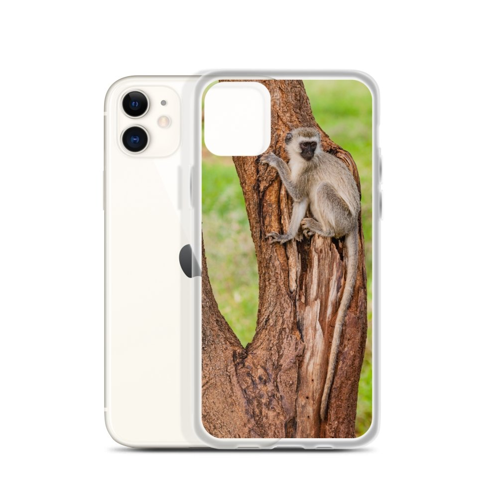 Cover per iPhone - Scimmie dentro l'albero - Overland Shop