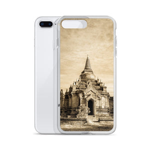 Cover per iPhone - Tempio in Sepia - Overland Shop