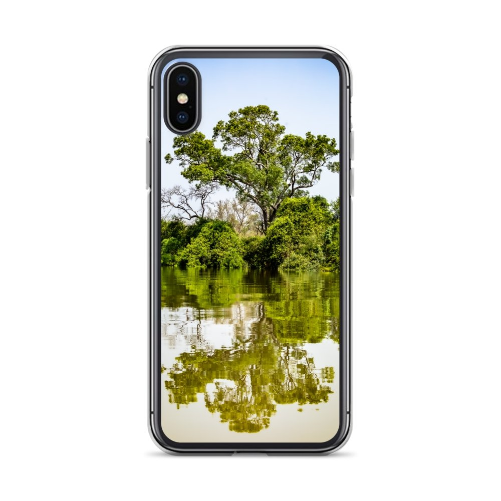 Cover per iPhone - Tree in the Gambia river - Overland Shop