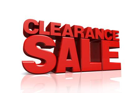 MASSIVE STOCK CLEARANCE SALE IS NOW ON