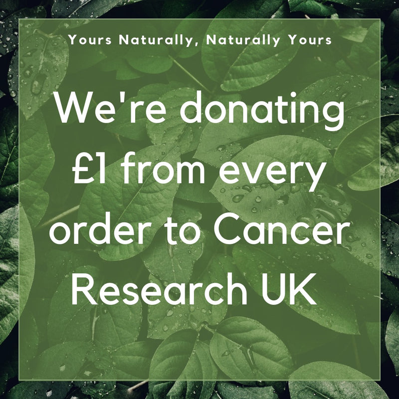 Nominated charity - Cancer Research UK