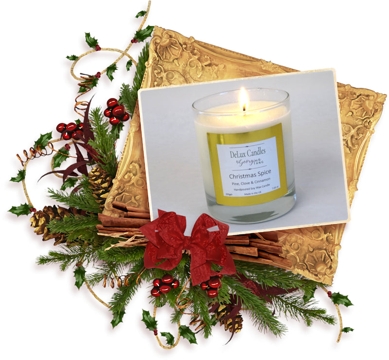 PRE LAUNCH OF OUR DELUX XMAS SOY WAX CANDLES