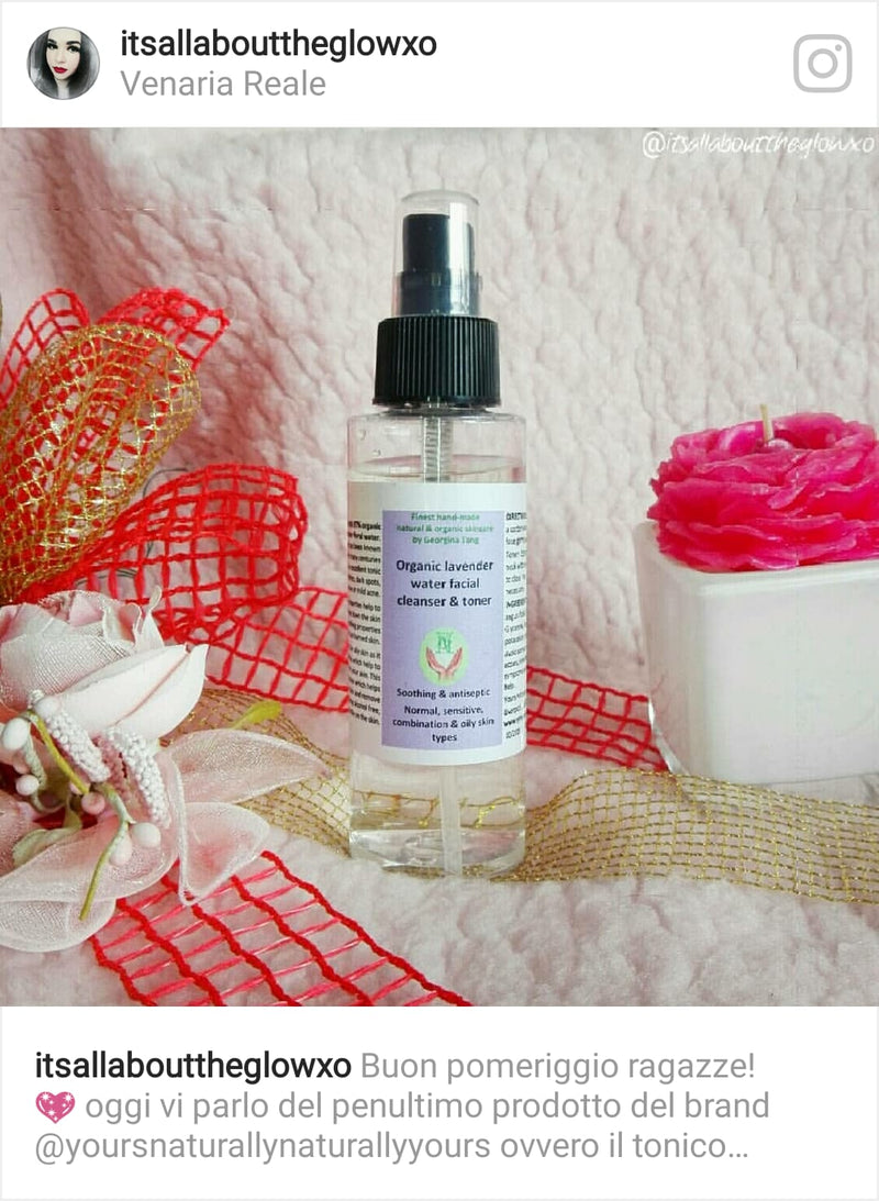 Fantastic review on the top seller organic lavender cleanser and toner