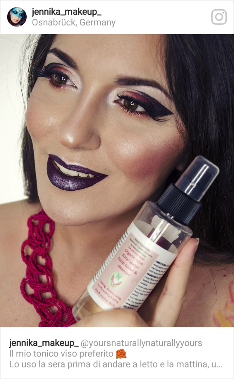 Fantastic product review by a lovely beauty blogger in Germany