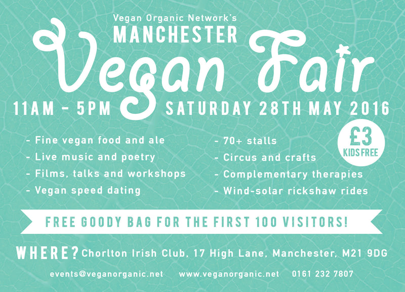 Manchester Vegan Fair on 28th May 2016