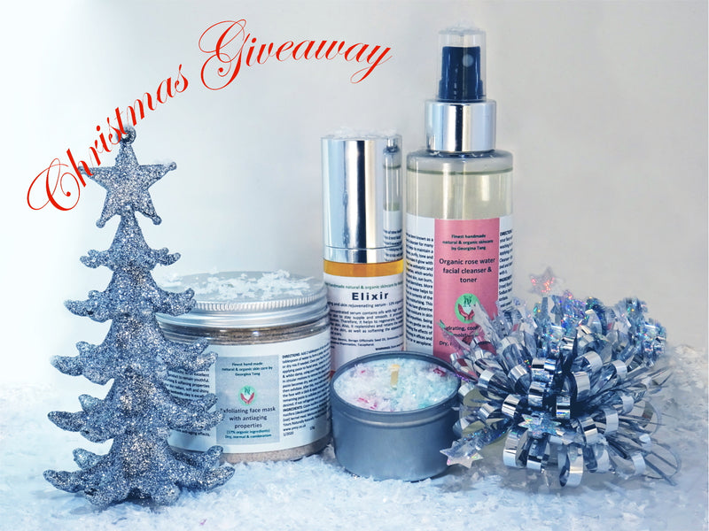 SNEAK PREVIEW OF THE CHRISTMAS GIVEAWAY