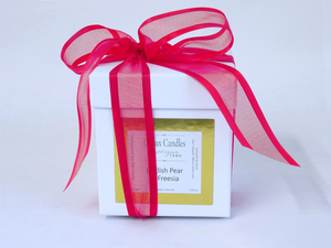 English Pear and Freesia Soy Wax Candle