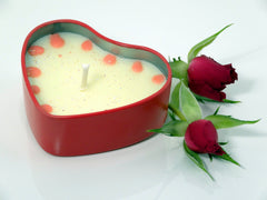 True love candle tin
