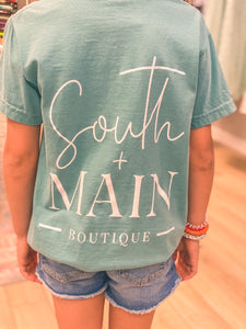 South + Main Kids Logo T-shirt