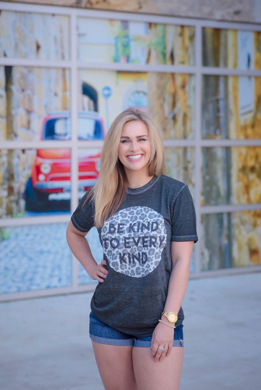 Be Kind Burnout Tee