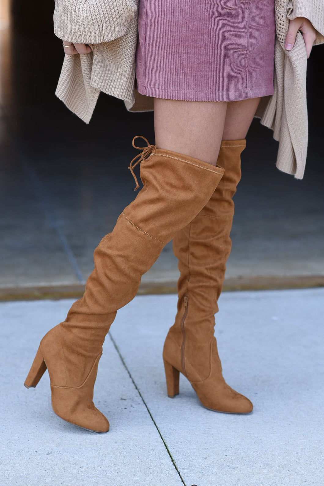 The Emily Over The Knee Boots