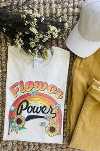 Flower Power Graphic Tee