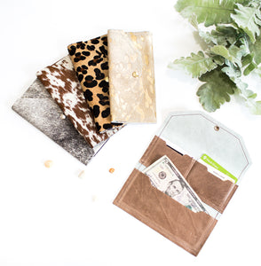 Cowhide Large Wallet