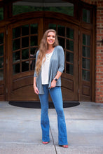 Load image into Gallery viewer, Heather Gray Basic Cardigan