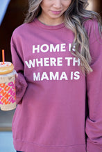 Load image into Gallery viewer, Home Is Where The Mama Is Sweatshirt