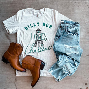 PREORDER Billy Bob Loves Charlene Graphic Tee