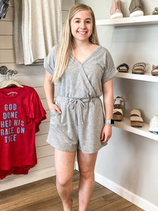 There's No Gray Area Romper