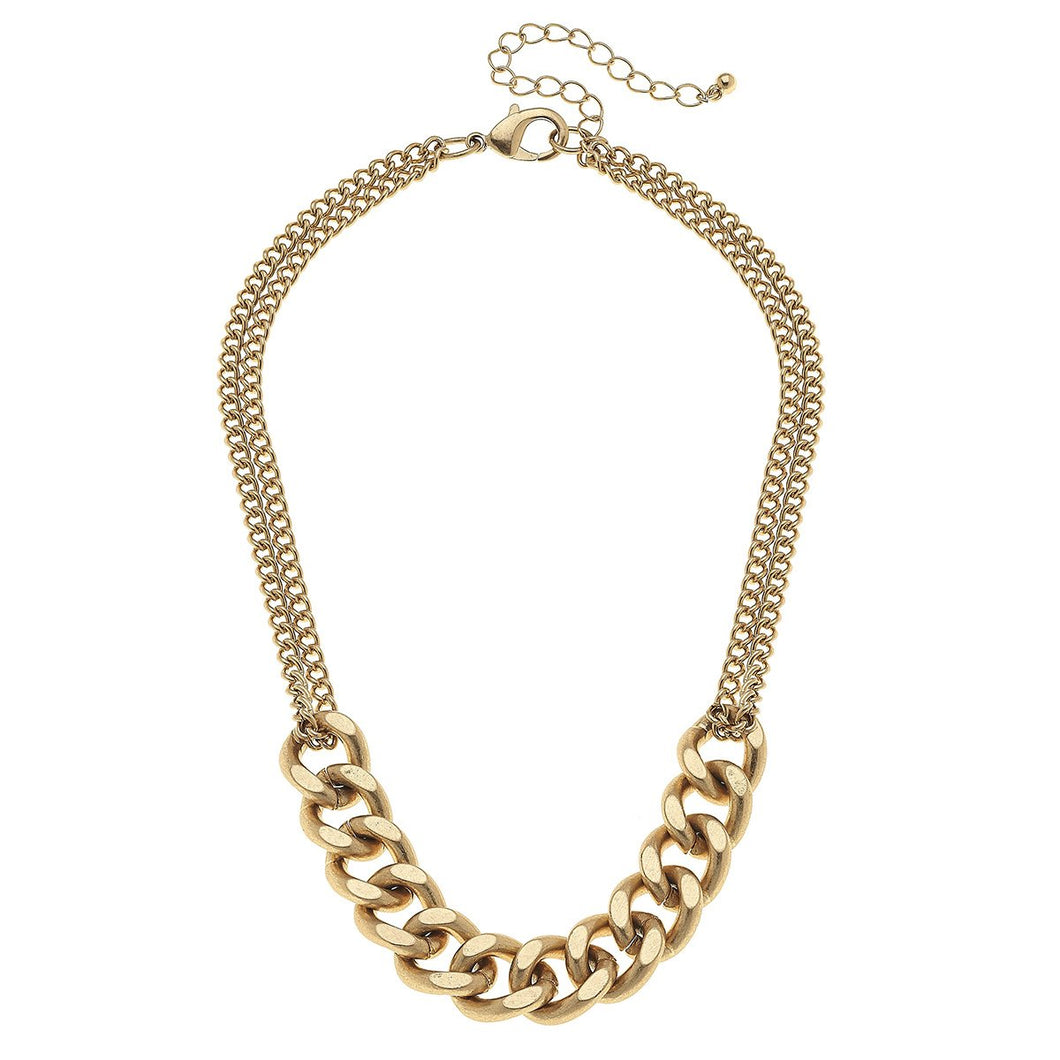 The Maya Curb Chain Necklace