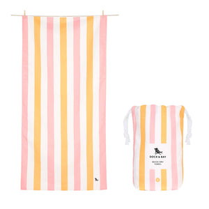 Dock & Bay Peach Sorbet Towel