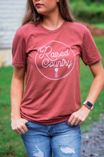 Load image into Gallery viewer, Raised Country Graphic Tee
