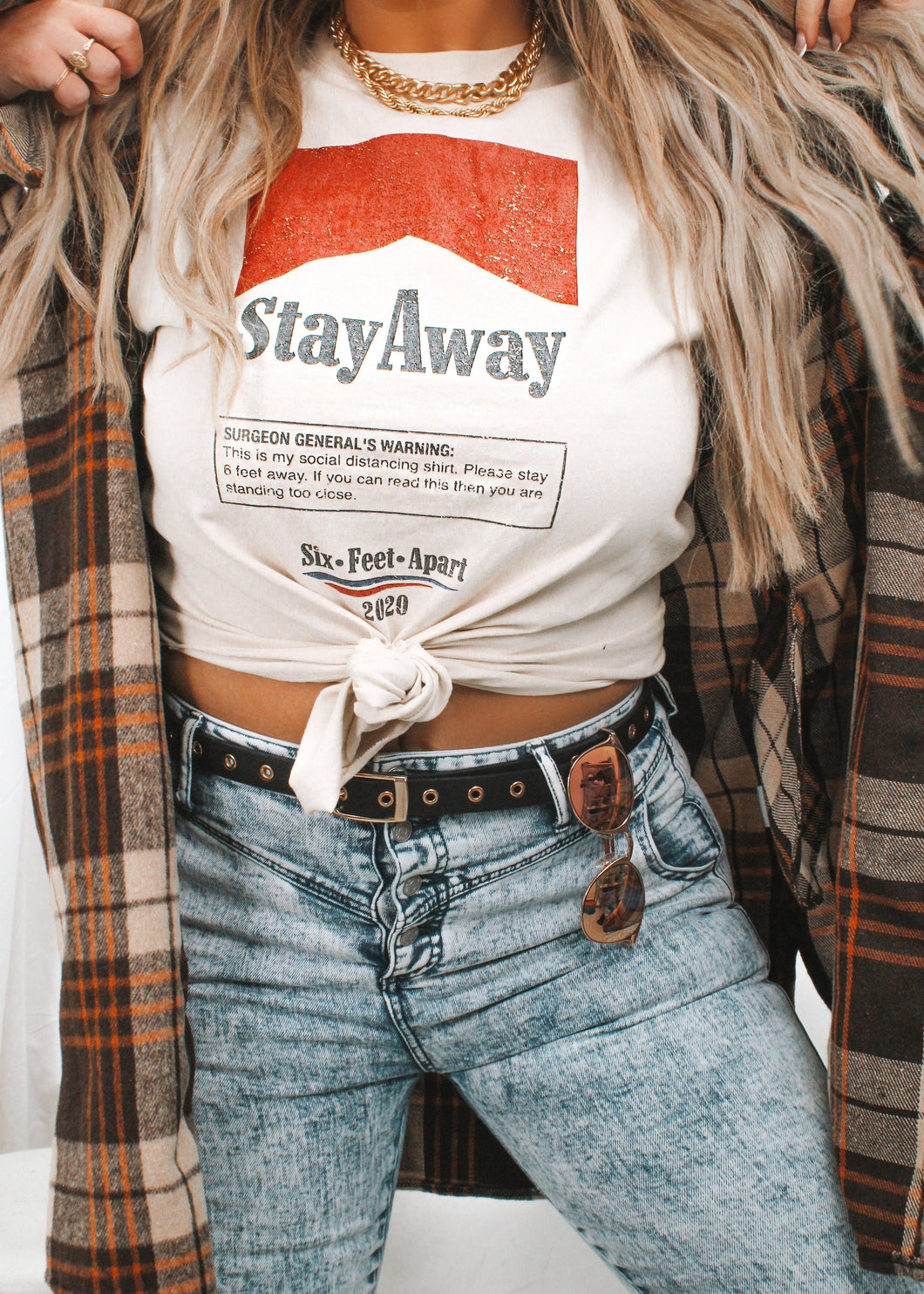 Stay Away Graphic Tee