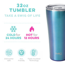 Load image into Gallery viewer, Swig Shimmer Mermazing Tumbler (32oz)