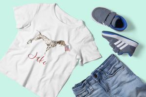 Patriotic Beau the Pointer Tee