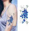 Flower tattoo sticker