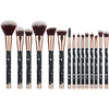 11 sets of marble makeup brush