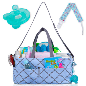 Portable Baby Diaper Caddy Organizer