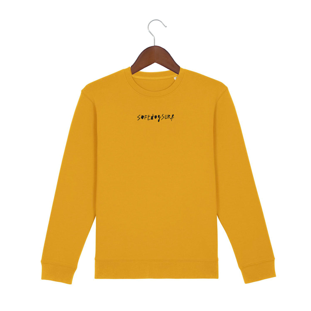 Brand Sweater Yellow