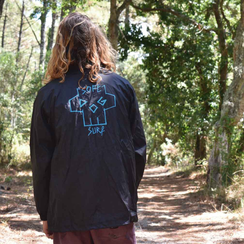 softdogsurf apparel jacket back