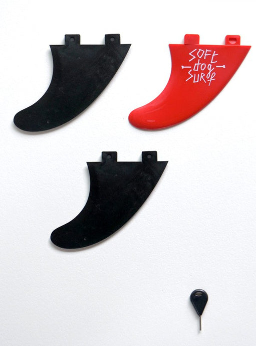 SOFTDOG FINS THRUSTER SET