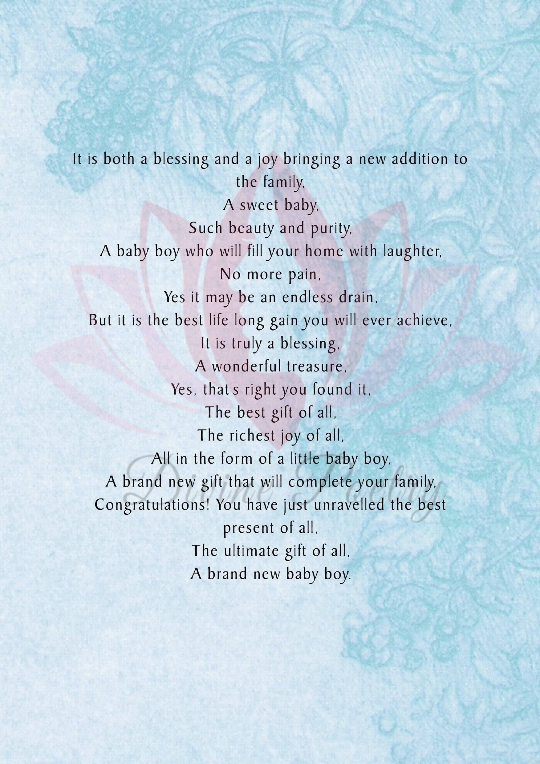 A Beautiful Little Son - Divine Poetry