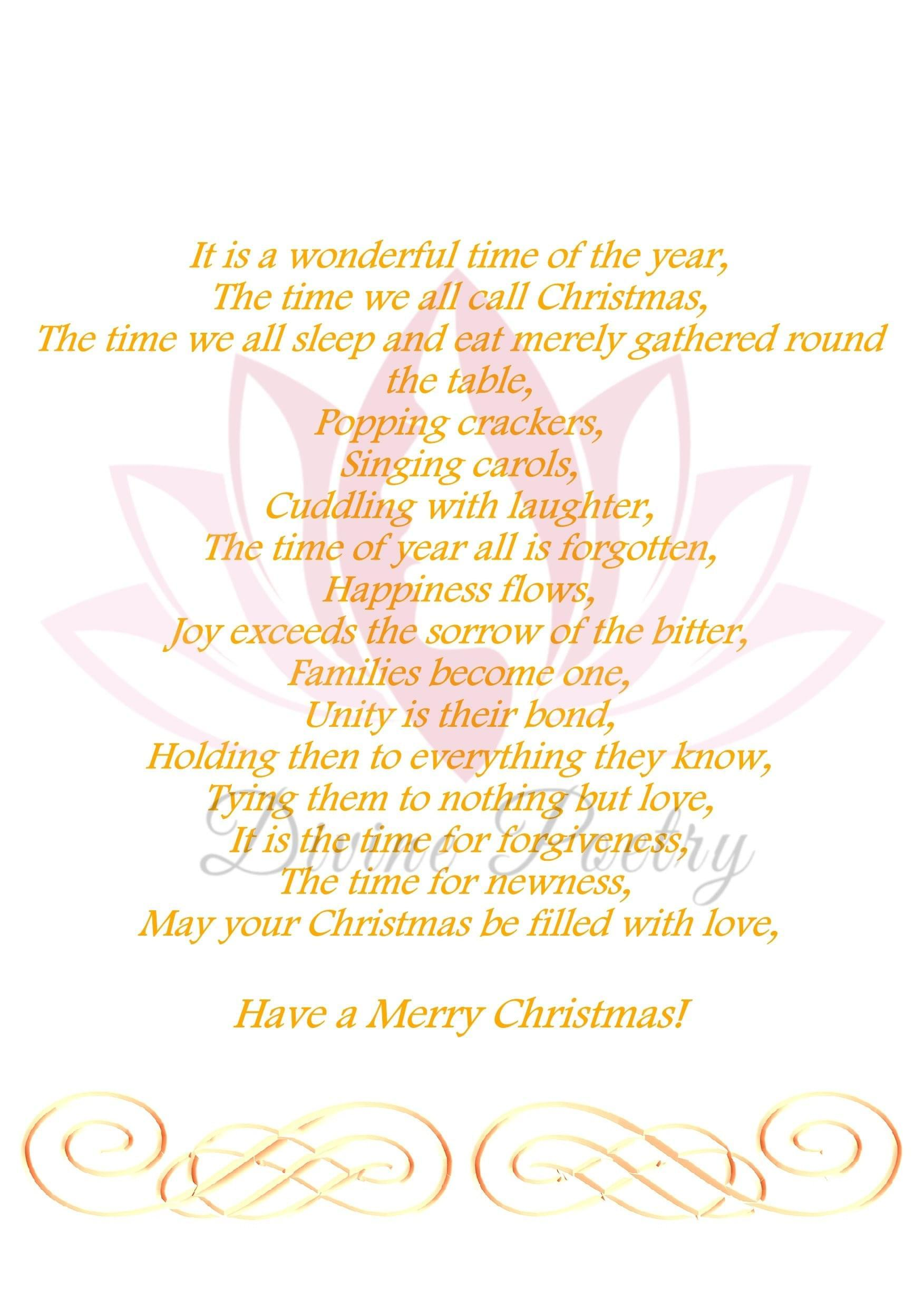 Merry Christmas Love - Divine Poetry