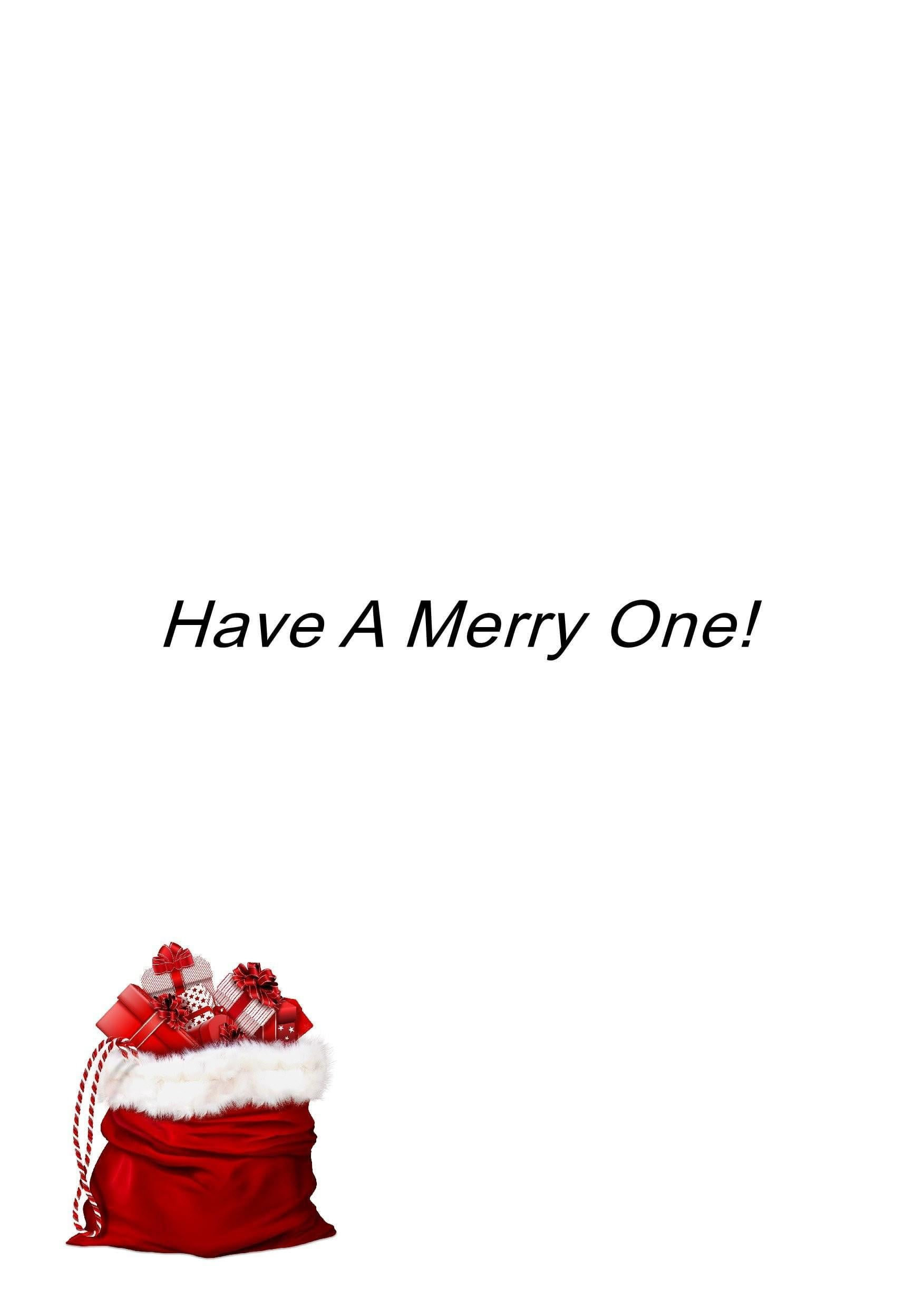 Have A Merry One - Divine Poetry