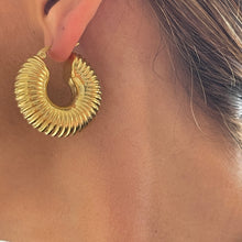 Load image into Gallery viewer, Andreina Chunky Hoops