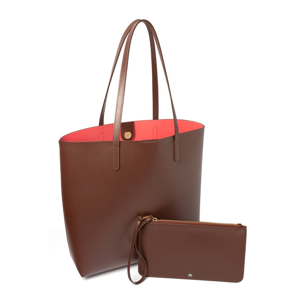 BROWN SHOPPER Hot Coral