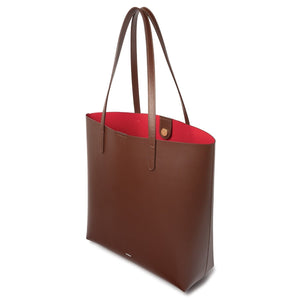 BROWN SHOPPER True Red