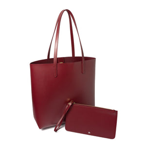 BURGUNDY SHOPPER Deep Burgundy