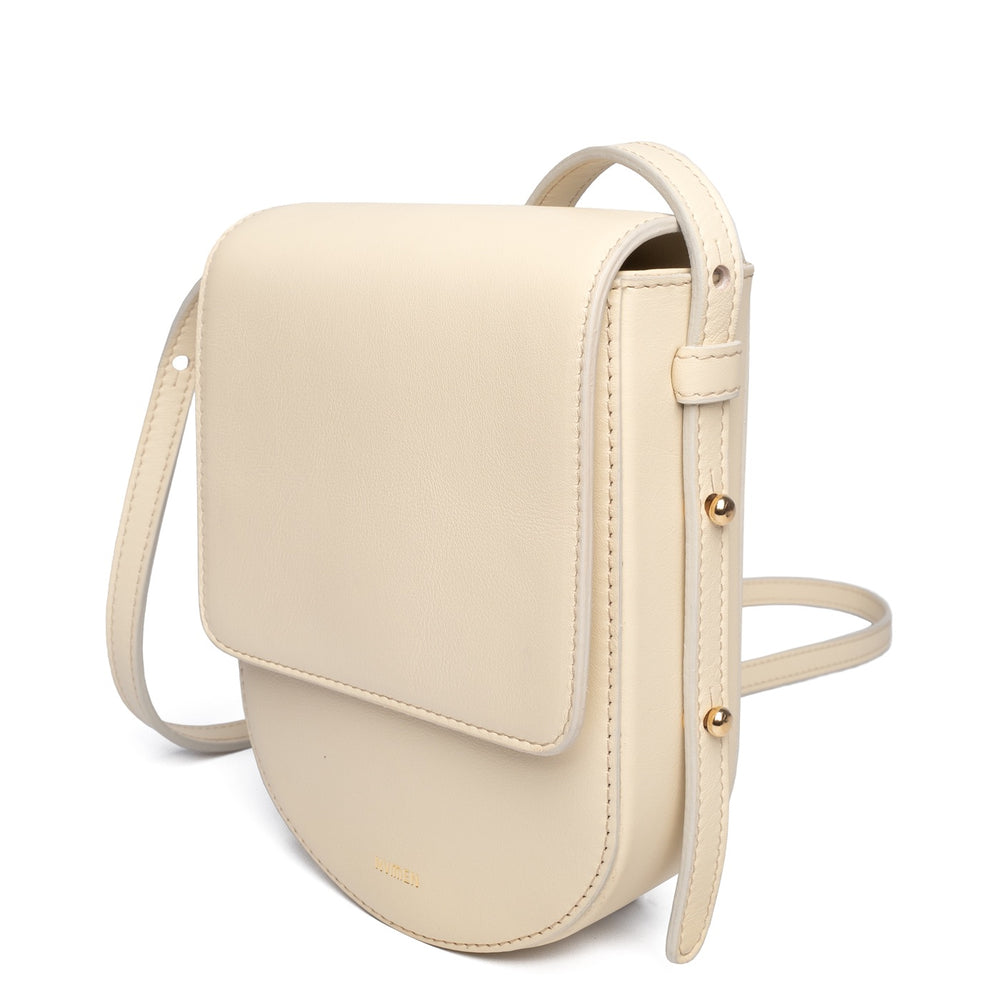 CREAM-WHITE MINI CROSSBODY