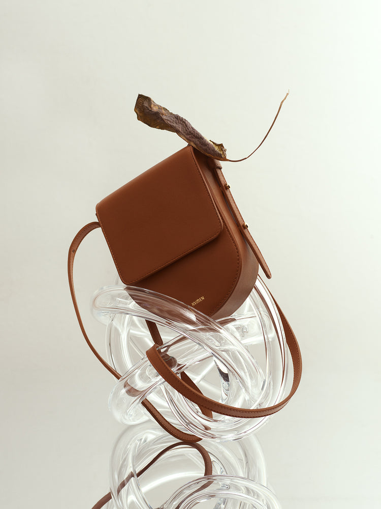 TAN MINI CROSSBODY
