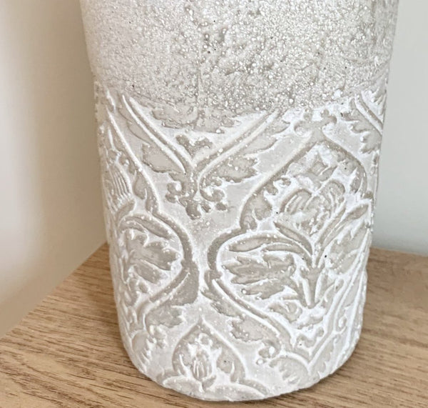 Baroque cement pot / planter