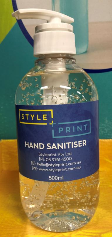 Hand Sanitiser - 500ml pump bottle