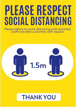 A4 Poster - Social Distancing