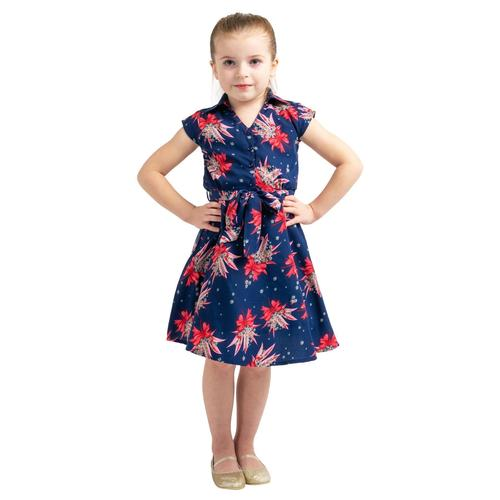Kids Collared Button Down Dresses