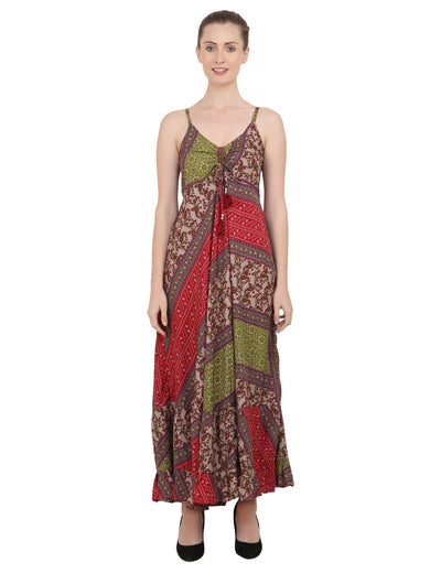 Women Casual Boho Style Maxi Dresses in Two Sizes (P325)