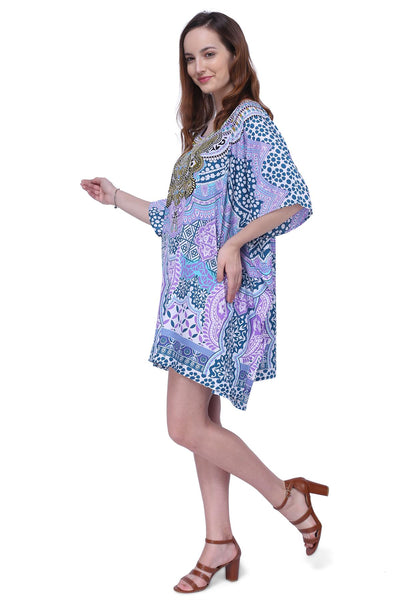 Women's Kaftans Loungewear Tunic Tops Dresses - One Size (158)