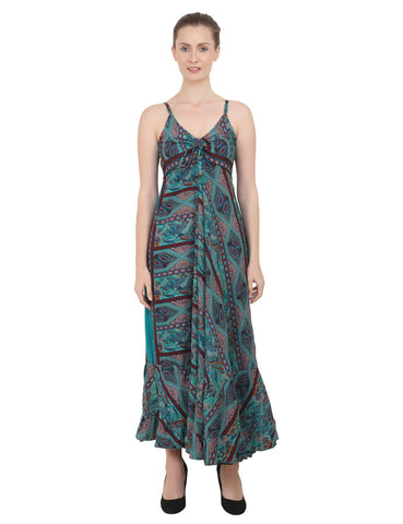 Women Casual Boho Style Maxi Dresses in Two Sizes (P224)
