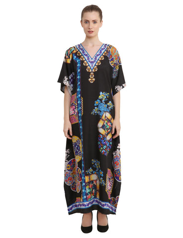 Women's Kaftans Loungewear Long Maxi Style Dress - One Size [145]